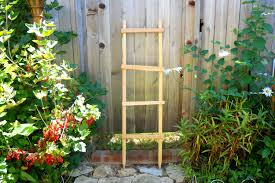 decorative ladder garden trellis pot trellis garden ladder