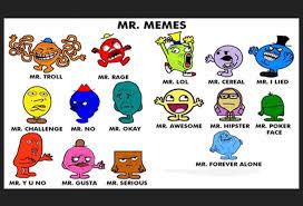 Mr Meme - mr men memes