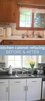 kitchen cabinet refacing at home depot kitchen cabinet refacing the process