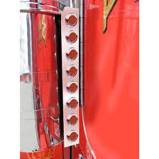 peterbilt air cleaner lights stainless steel led rear air cleaner lights red 4 state trucks