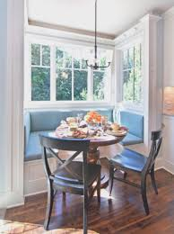 simple kitchen breakfast nook furniture modern rooms colorful