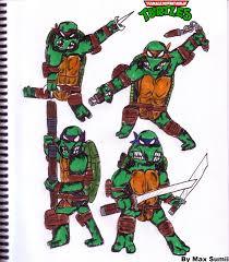 maximum sumii teenage mutant ninja turtles drawings