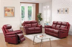 red leather reclining sofas tags magnificent red leather