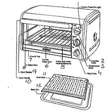 Kitchenaid Toaster Oven Parts List Kenmore Toaster Oven Parts Model 10082005 Sears Partsdirect