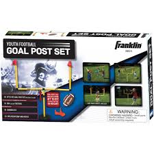 sports football goal post set youth