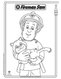 fireman sam coloring pages getcoloringpages com