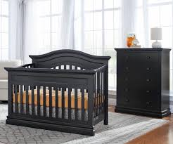 Westwood Convertible Crib Westwood Design Harbor Convertible Crib And Chest Black