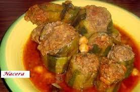 recette cuisine courgette recette de courgettes farcies par nacera61