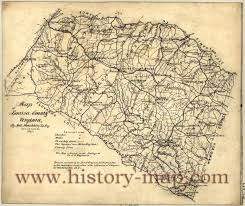 Va County Map Louisa Virginia Map Virginia Map