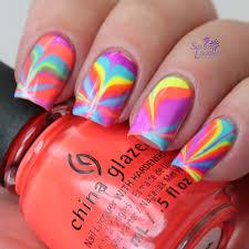 nail polish change color water nails art ideas