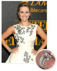 reese witherspoon engagement ring 4 carat engagement rings reese