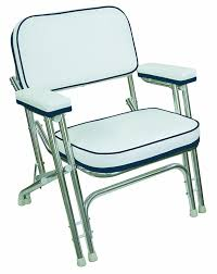 Aluminum Boat Floor Plans by Amazon Com Wise Folding Deck Chair With Aluminum Frame White