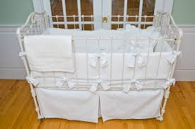 White Crib Bedding Matelasse Crib Bedding White By Sweet William Featured At