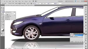 cartoon sports car side view how to convert an image into artwork in illustrator youtube
