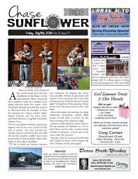 chase sunflower july 8th by chase sunflower issuu
