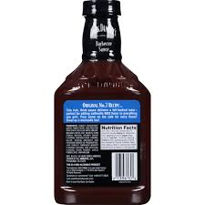jack daniel u0027s original no 7 recipe barbecue sauce 19 oz walmart com