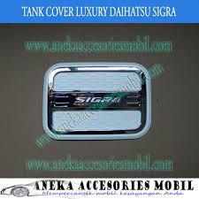 Daihatsu Sigra Trunk Lid Cover Chrome garnish tutup bensin daihatsu sigra luxury garnish tutup bensin