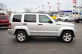 silver jeep liberty with black rims 2008 jeep liberty silver 4x4 used suv sale