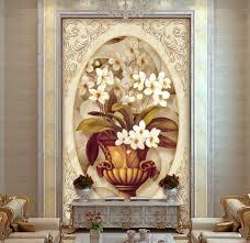 online get cheap wall murals wallpaper modern aliexpress com custom 3d stereoscopic wallpaper luxury oil painting flower pattern relief 3d wall mural wallpaper modern