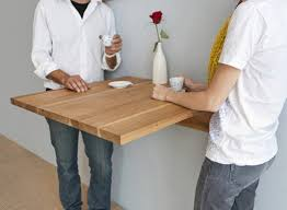 tables better living through design lax wall mounted table dining tables better living through