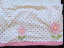 Pottery Barn Ruffle Crib Skirt Pottery Barn Kids Garden Nursery Bedding Ebay