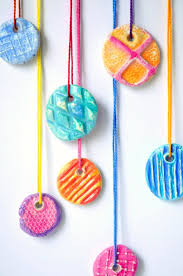Pinterest Crafts For Kids To Make - diy texture clay pendants texture clay and gifts for kids