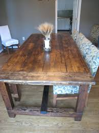 Rustic Dining Room Table Plans Rustic Dining Table Diy Video And Photos Madlonsbigbear Com