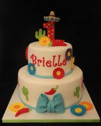 cinco de mayo 1st birthday fiesta cake by katie cortes