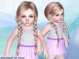 childs hairstyles sims 4 how come a lot of cc hairs do this the sims forums