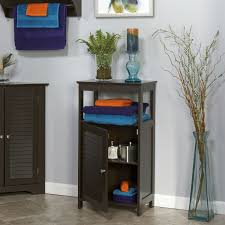 Free Standing Shelf Design by Modern Bathroom Floor Cabinet Free Standing Storage Unit In