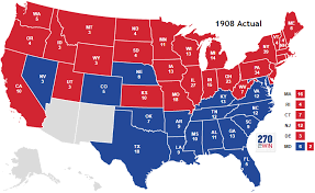 in us map historical u s presidential elections 1789 2016