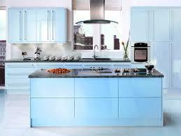 interior decoration blue kitchen cabinets the kitchen interior