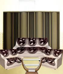 Sofa Cover Online Buy Tanya U0027s Homes Beige Chenille U0026 Velvet Sofa Covers For 7 Seater