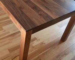 solid walnut dining table walnut dining table custom made solid walnut dining table