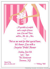 bridal shower invite wording for gift card wedding shower invitation wording magnificent