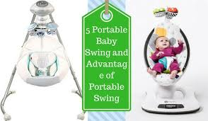 portable baby swing with lights top 5 portable baby swings buyer guides and reviews