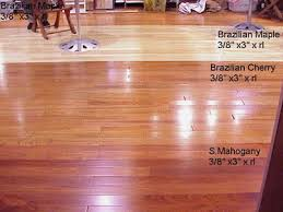 photo of cherry engineered hardwood flooring wood