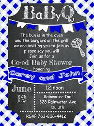 baby shower coed bbq baby shower invitations 1496 also coed baby shower invitations