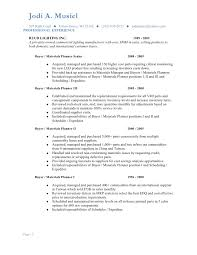 Resume Manager Musiel Jodi Resume Materials Planning 2