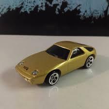 1978 porsche 928 wheels 1978 porsche 928 gold diecast car loose mint 1 64