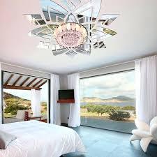 hotel chambre avec miroir au plafond miroir plafond chambre diy de mode plafond fleurs mur 3d
