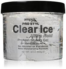 amazon com ampro pro styl clear ice protein gel 32oz hair care