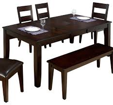 Butterfly Folding Table And Chairs Jofran Dark Rustic Prairie Butterfly Leaf Dining Table