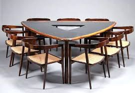 shaped dining table triangle dining room table triangle shaped tables triangular shaped