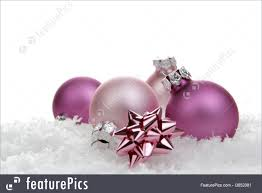 photo of pink ornaments