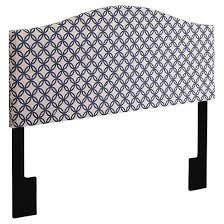 Watson Outdoor Furniture by Watson Upholstered Headboard Quatrefoil Navy King Pulaski Target