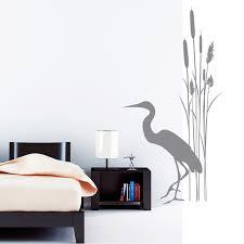 wandtatoo badezimmer wandtattoo badezimmer schilf kranich bambus prints