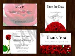 33 red rose wedding invitations vizio wedding