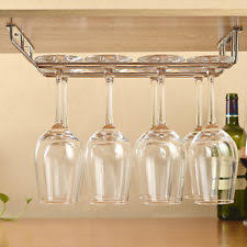 ikea stainless steel hanging wine glass rack 602 438 83 silver