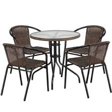 Circular Patio Seating Round Patio Dining Sets You U0027ll Love Wayfair